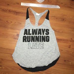 VS Always Running (Late) Tank Top 🏃🏽♀️
